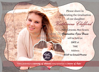 Grad Announcement Back